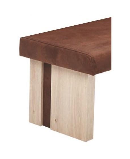 DUO - Moderní rovná lavička bez opěru