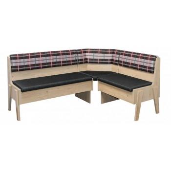 Rohová lavice MAXIM s velkým úložným prostorem