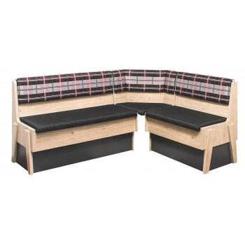 Rohová lavice MAXIM Plus s velkým úložným prostorem