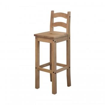 Barová židle CORONA 2 vosk
