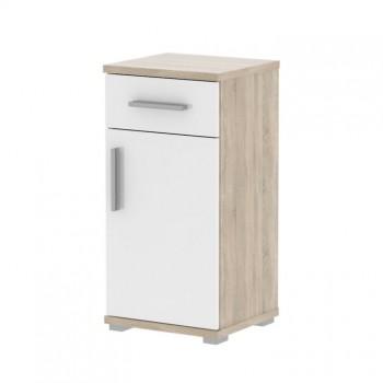 Koupelnová skříňka se zásuvkou LESSY linda LI03, sonoma, bílá