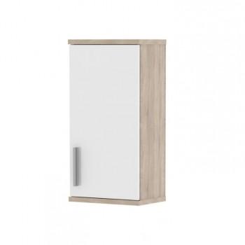 Koupelnová závěsná skříňka LESSY linda LI04, sonoma, bílá