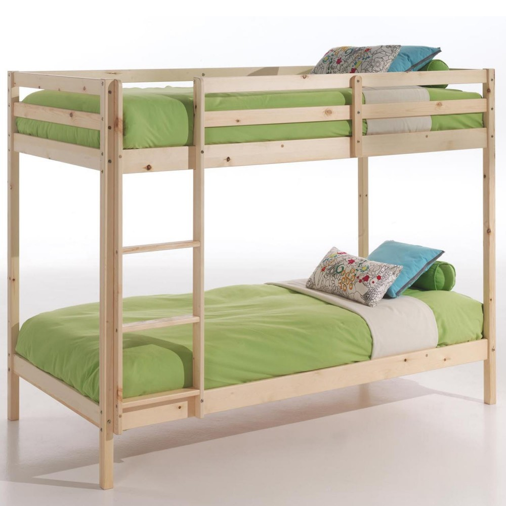Patrová postel 830, smrk, doprava ZDARMA
