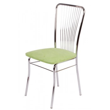 Jídelní židle chromovaná LAURA Z60