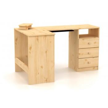 Psací stůl rohový 3 zásuvky...