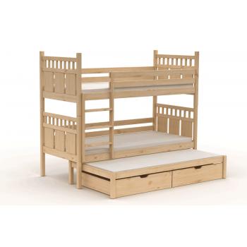 Poschoďová troj postel VAŠÍK...