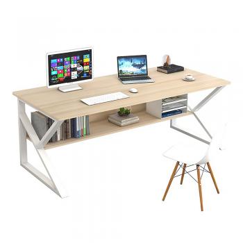 Psací stůl TARCAL 140, dub/bílá,...