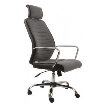 ZK74 Kancelářská židle černošedá