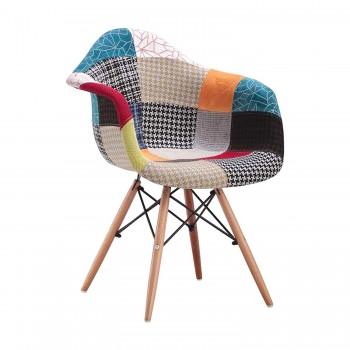 Jídelní židle DUO patchwork...