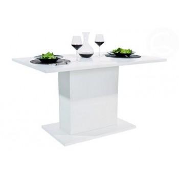 Jídelní stůl ANITA, bílá lesk
