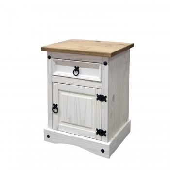 Noční stolek CORONA 16345B, bílý...