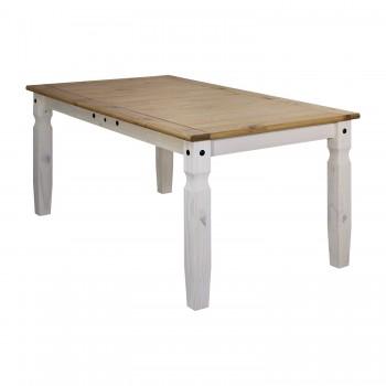 Jídelní stůl CORONA 16110B, bílý...