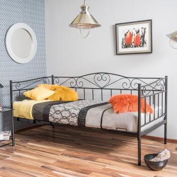 Kovová postel - pohovka SALSA,...