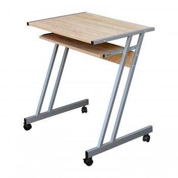 Kovový PC stůl 106 na kolečkách,...