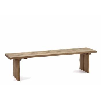 Rovná lavička OVIEDO z dubového masivu