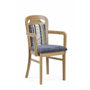 Jídelní židle TARAS Dub s područkami