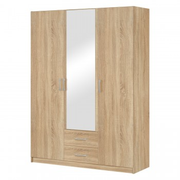 Skříň třídveřová  se zrcadlem...