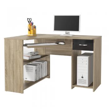 Rohový PC stůl UMAG, dub sonoma/...