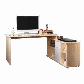 Rohový psací stůl DALTON, dub...