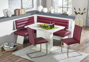 Rohová sestava TRIO - lavice + stůl + 2 židle
