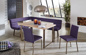 Rohová sestava COLOUR LIVING - LAS VEGAS - lavice + stůl + 2 židle